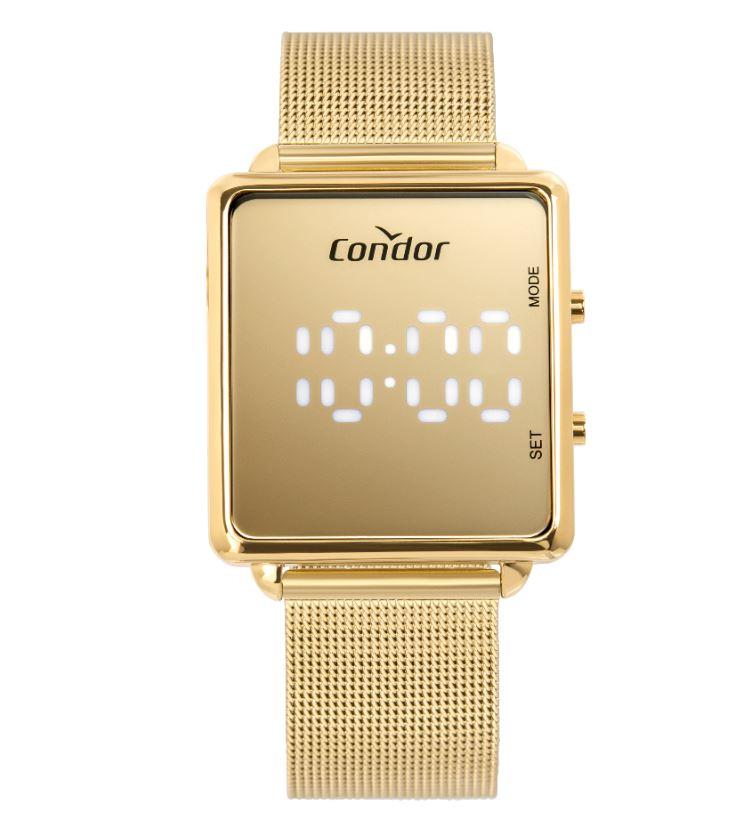 Relógio Feminino Condor Digital Led COMD1202AF/4D