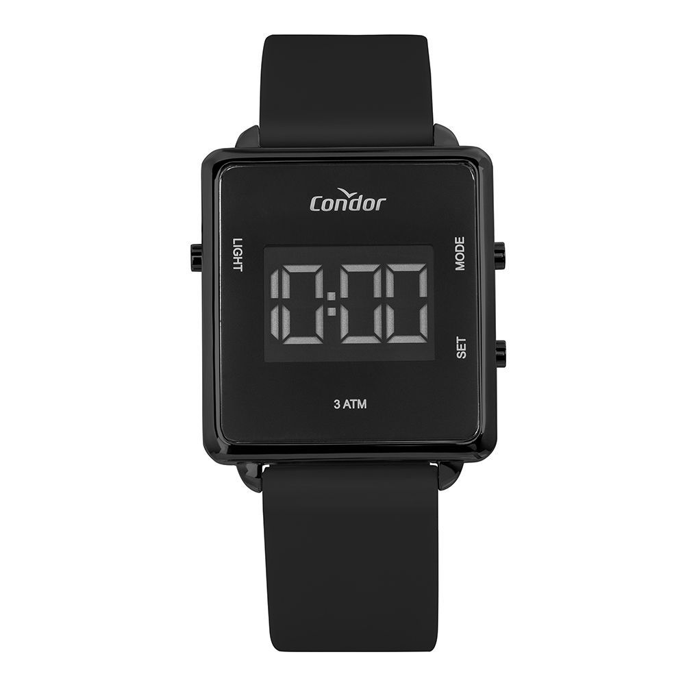 Relógio Condor Digital Preto Unissex COBJF156AG/2P