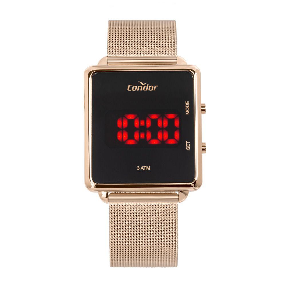 Relógio Condor Digital Rose COJHS31BAB/4J