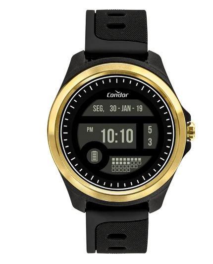Relógio Condor Digital  Dourado Masculino COKW05CAA/8D