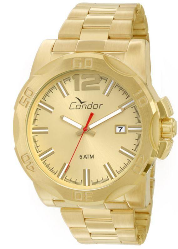 Relógio Condor Dourado Masculino CO2415AA/4X
