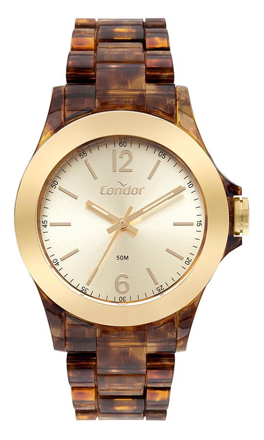 Relógio Condor Feminino Fast Fashion Tartaruga COPC21JBM/8S