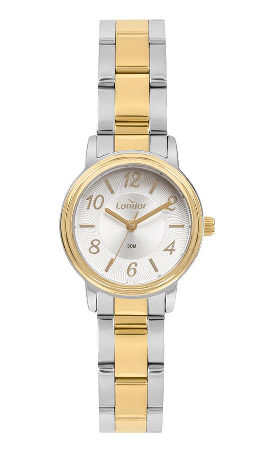 Relógio Condor Feminino Mini Bicolor COPC21JAG/5K