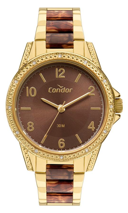 Relógio Condor Feminino Premium Dourado COPC21AEFF/4M