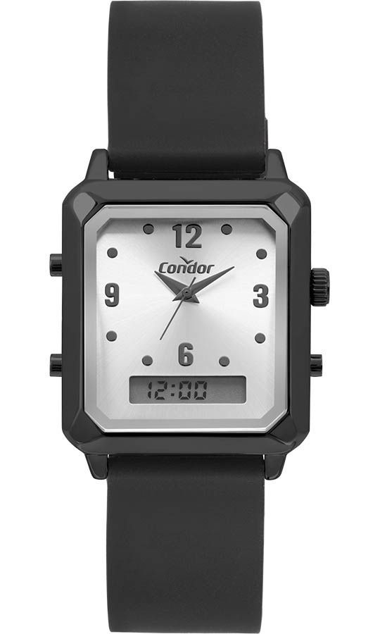 Relógio Condor Feminino Top Fashion Preto COBJ3718AE/2K