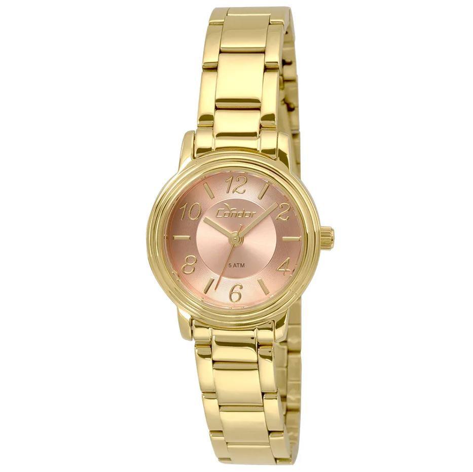 Relógio Condor Mini Dourado Feminino CO2035KRM/4T