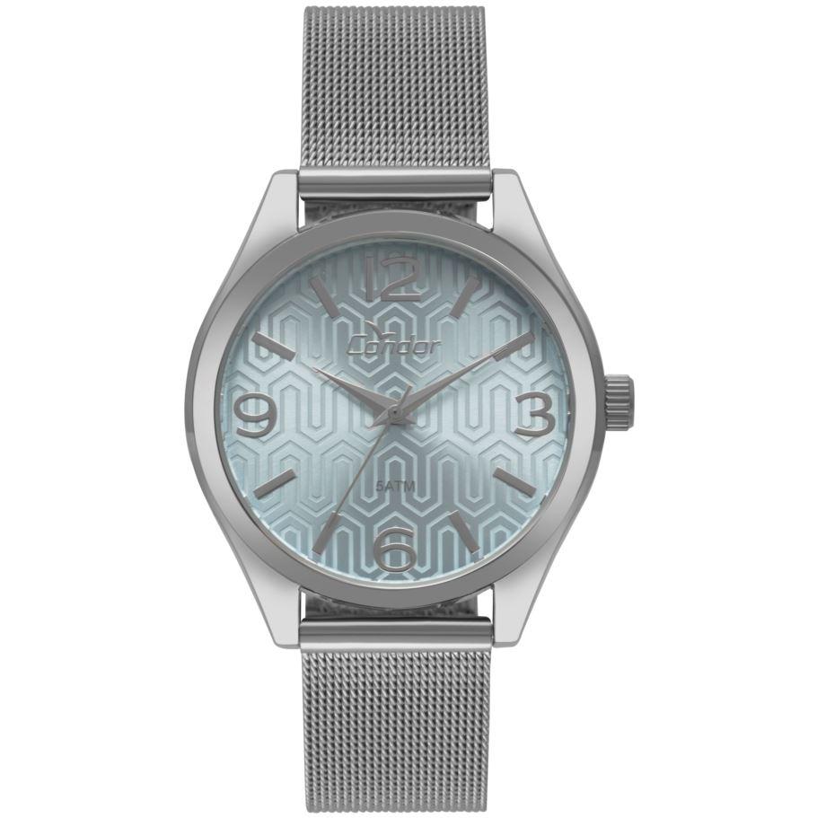 Relógio Condor Prata Feminino CO2035KXS/3A
