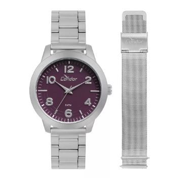Relógio CONDOR Troca pulseiras Feminino CO2036KUP/T3G