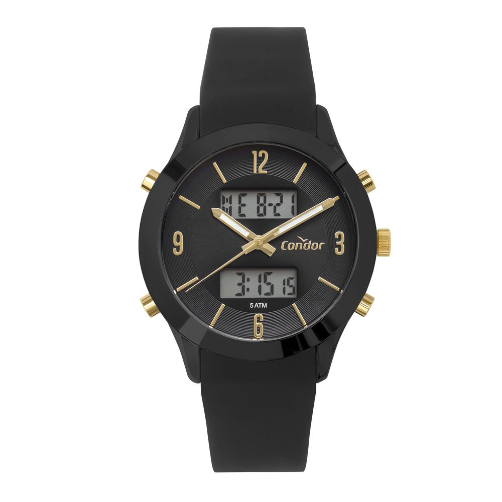 Relógio Condor Unissex Preto COBJ3365AAL/4P