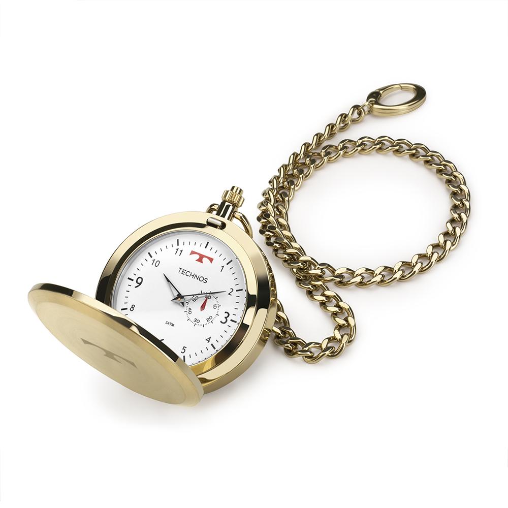 Relógio De Bolso Technos Masculino Heritage 1L45BB/4B