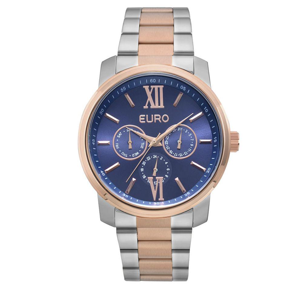 Relógio Euro Bicolor Prata e Rose Feminino EU6P29AKETD/5A
