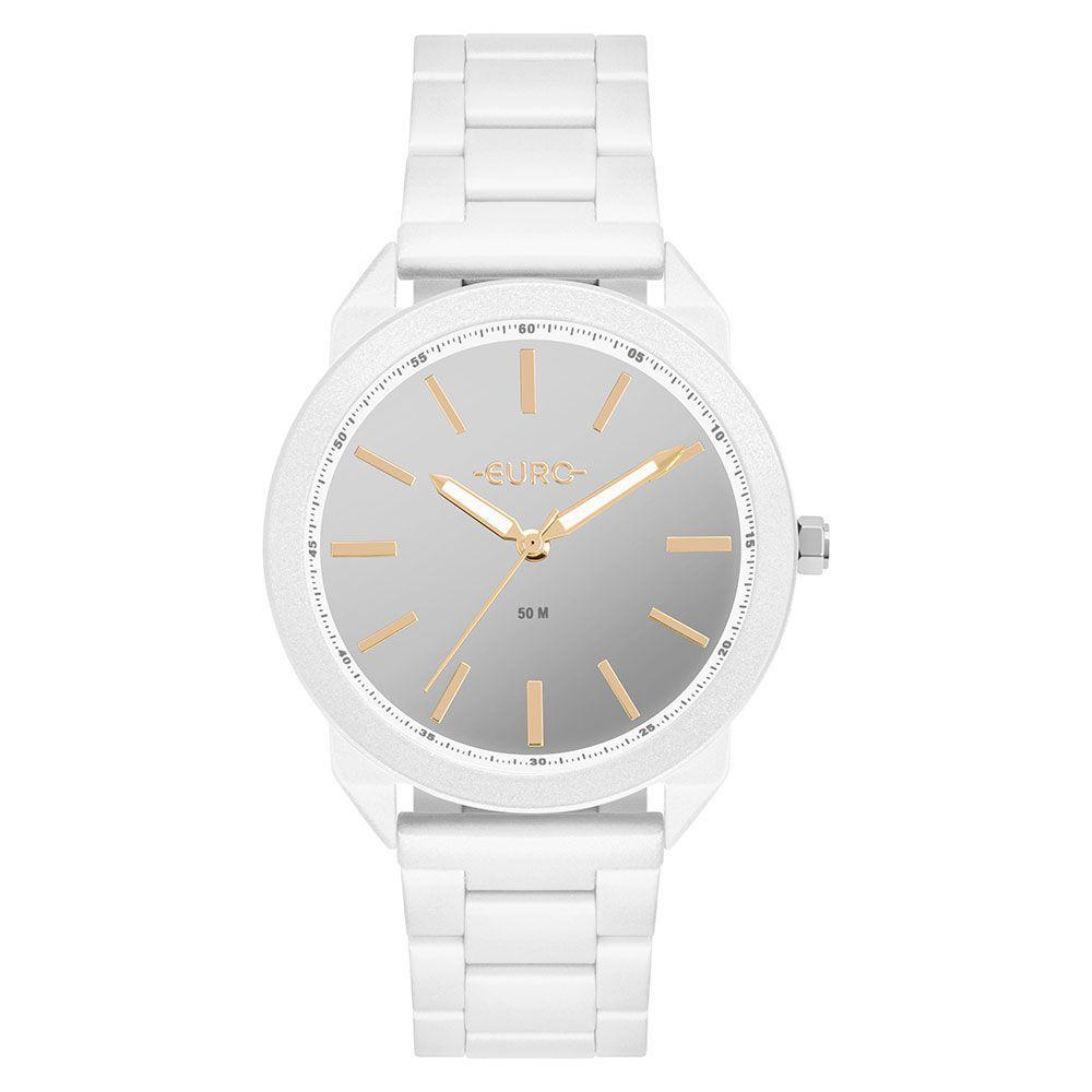 Relógio Euro Color Spray Branco Feminino EU2035YSG/4B