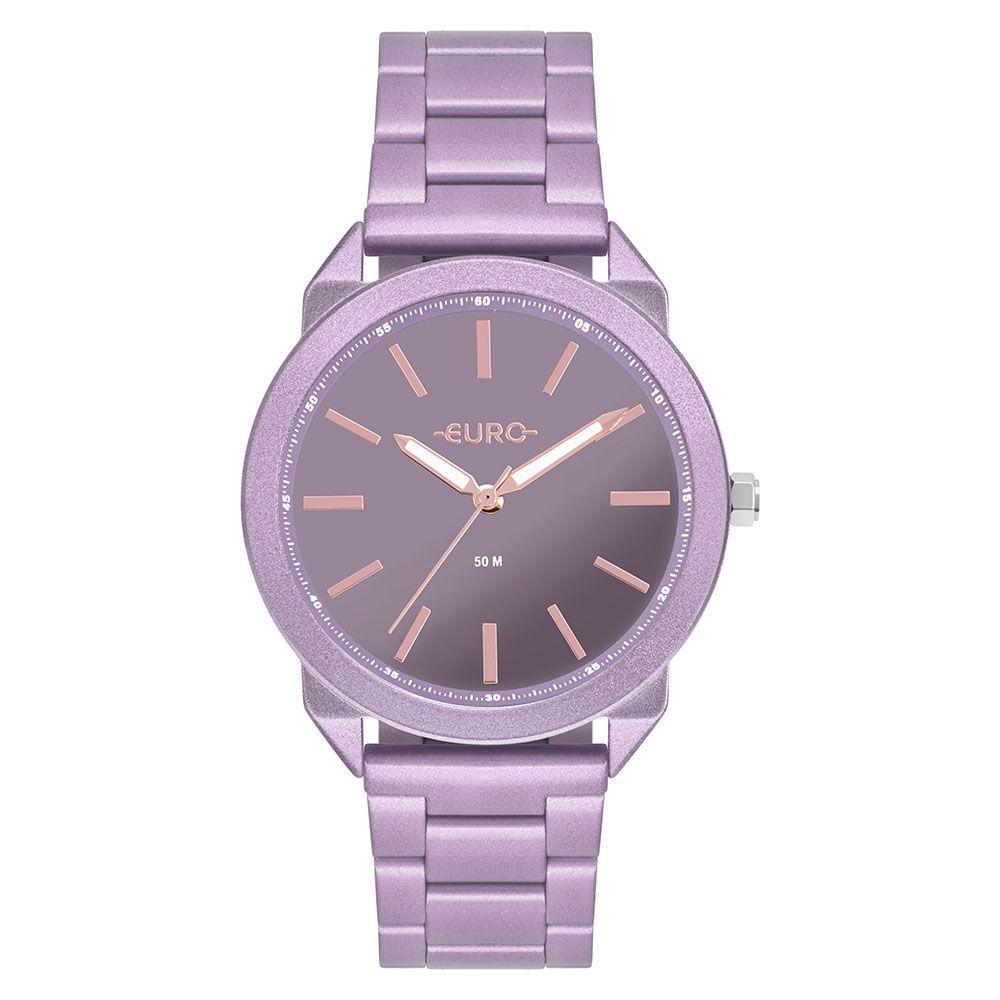 Relógio Feminino Euro Color Spray Lilas / Lavanda EU2035YSI/4G