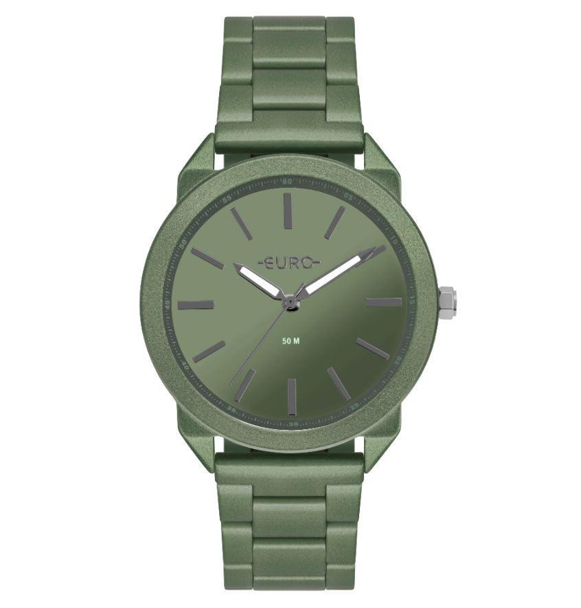 Relógio Feminino Euro Color Spray Verde EU2035YSP/4V