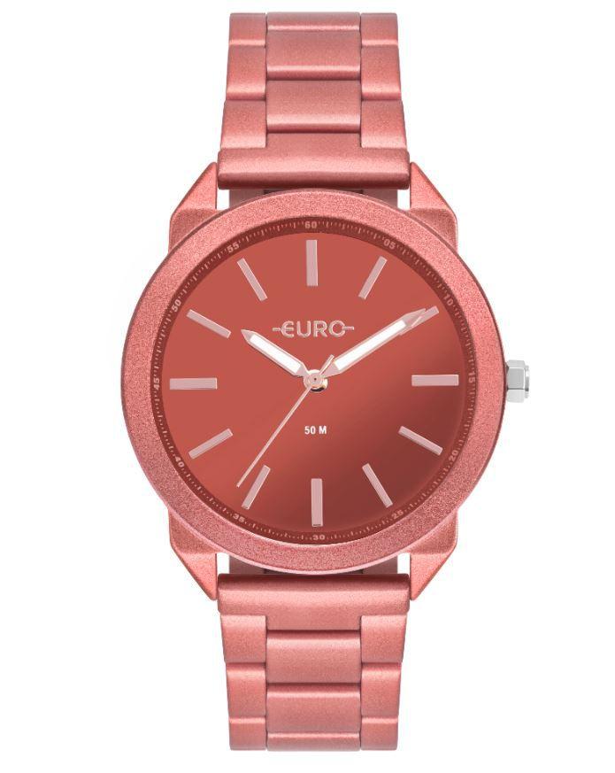 Relógio Euro Color Spray Vermelho Feminino EU2035YSH/4R