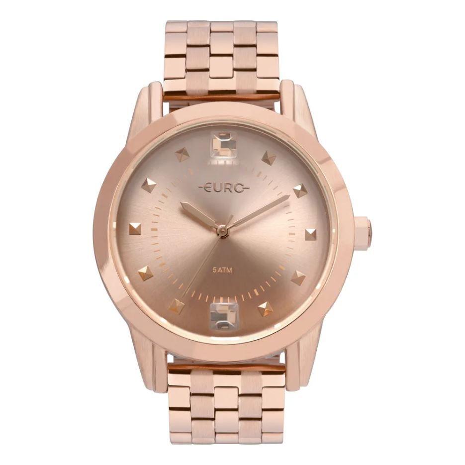 Relógio Euro Spike Illusion Rose Feminino EU2035YRS/4J