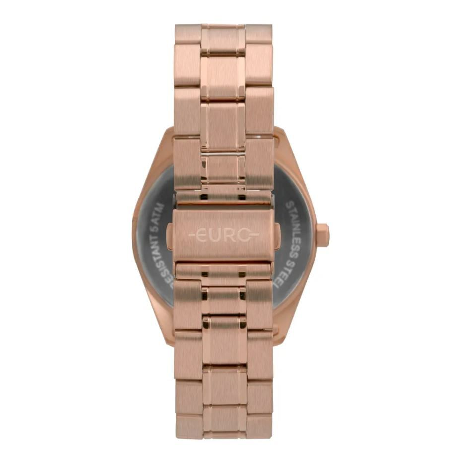 Relógio Euro Multiglow Rose Feminino EU6P79AE/4C