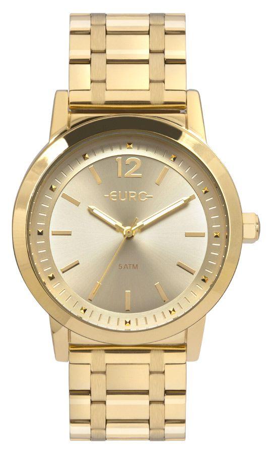 Relógio Euro Dourado Feminino EU2035YRQ/4D