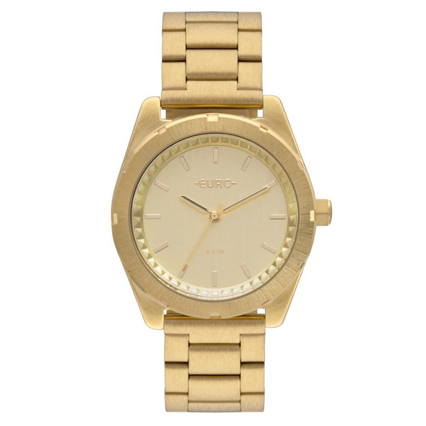 Relógio Euro Dourado Feminino EU2036YNW/4D