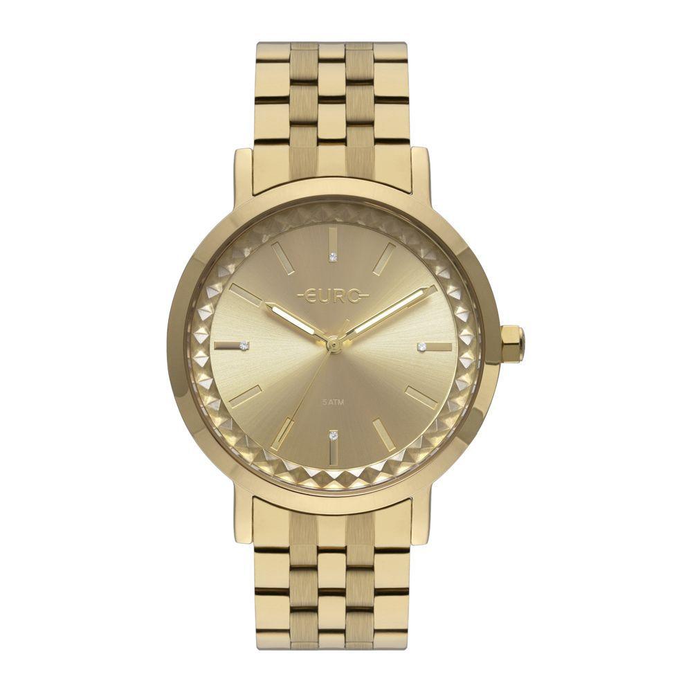 Relógio Euro Dourado Feminino EU2036YOQ/4D