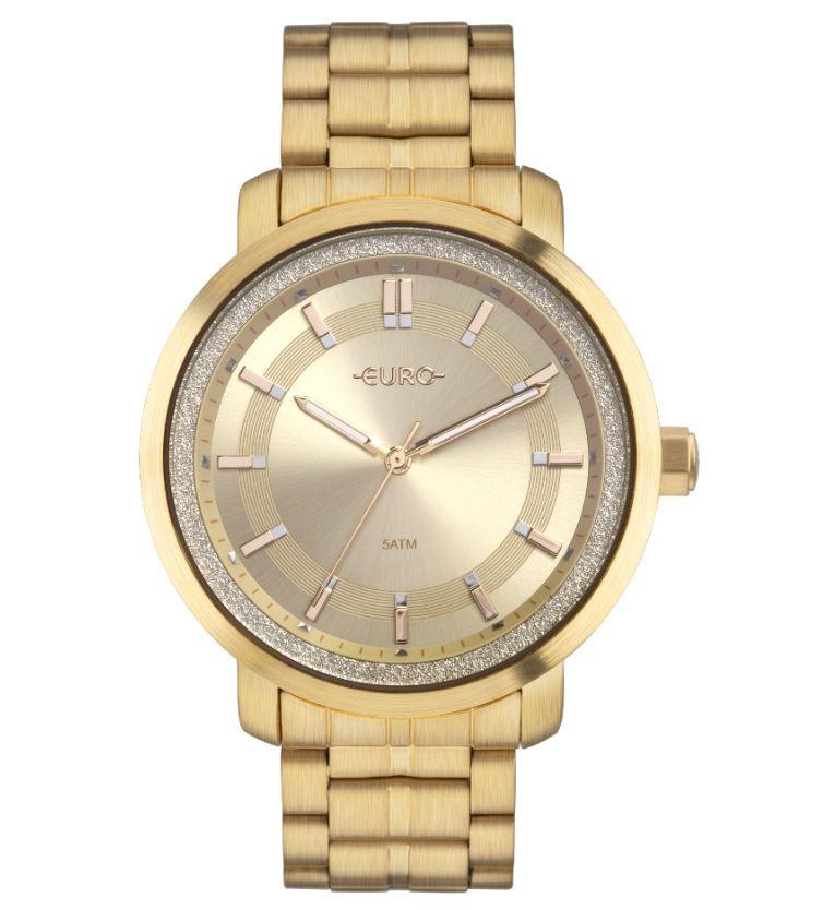 Relógio Feminino Euro Dourado EU2036YOY/4D
