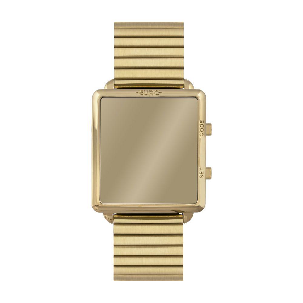Relógio Euro Fashion Fit Reflexos Dourado Feminino EUJHS31BAG/4D