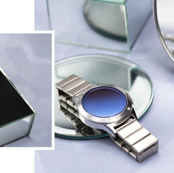Relógio Euro Fashion Fit Reflexos Feminino Prata EUJHS31BAA/3A