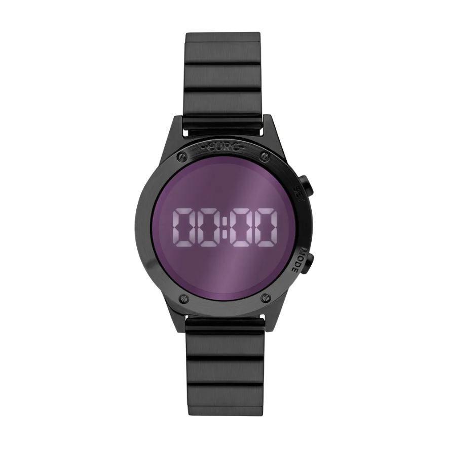 Relógio Euro Fashion Fit Reflexos Feminino Preto EUJHS31BAD/4P