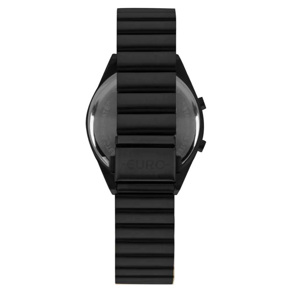 Relógio Euro Fashion Fit Slim Preto Feminino  EUBJT016AD/4P