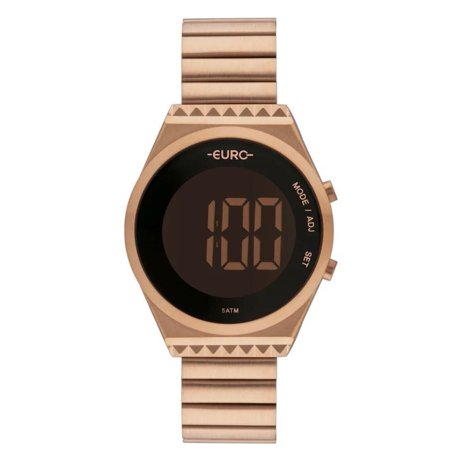 Relógio Euro Fashion Fit Slim Rosé Feminino EUBJT016AB/4J