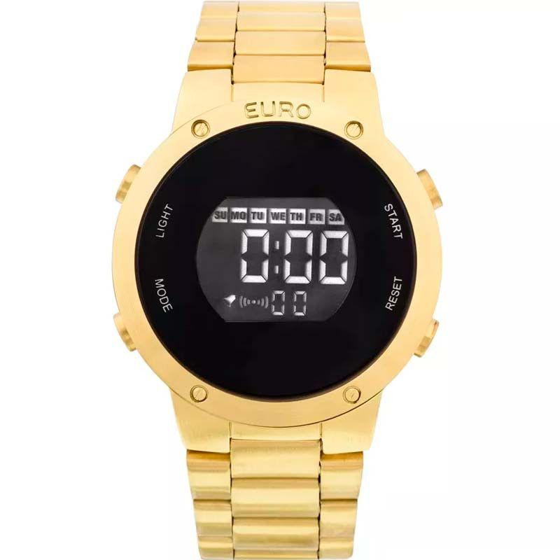 Relógio Euro Feminino Fashion Fit Dourado EUBJ3279AA/4D