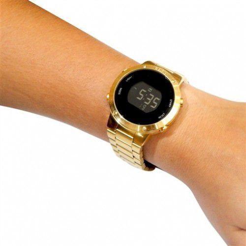 07735b932ac Relógio Euro Feminino Fashion Fit Dourado EUBJ3279AA 4D - Relógios ...