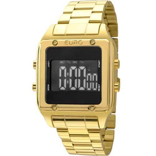7017f1ebca1 Relógio EURO Feminino FASHION FIT DOURADO EUG2510AA 4P - Relógios de ...