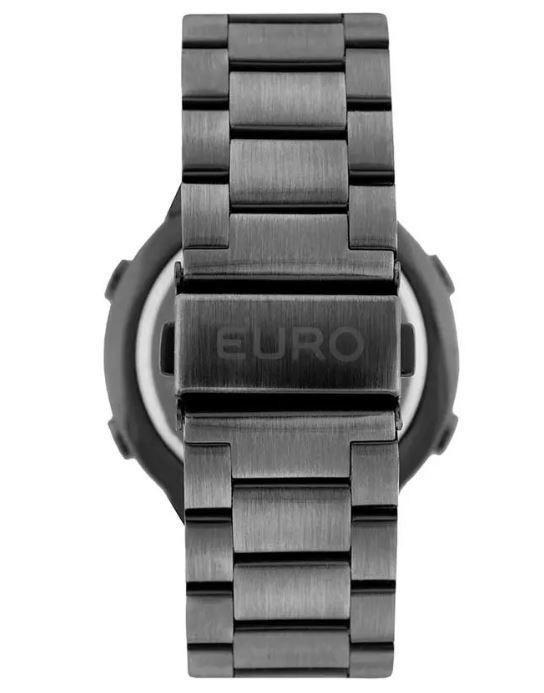 Relógio Euro Feminino Fashion Fit Prata/Grafite EUBJ3279AE/4K
