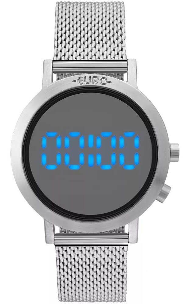 Relógio Feminino Euro Fashion Fit Prata EUBJ3407AB/3P