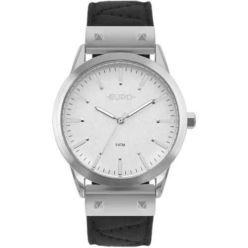 Relógio Euro Neoprene Feminino Prata Troca Pulseiras EU2035YOL/3K