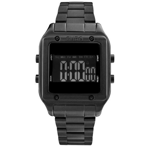 a40feb5bfa9 Relógio EURO Feminino FASHION FIT PRETO EUG2510AC 4P - Relogios de ...