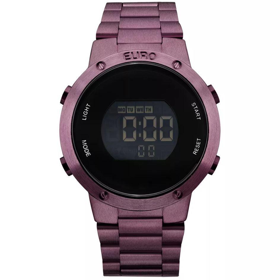 Relógio Euro Feminino Fashion Fit Roxo EUBJ3279AD/4T