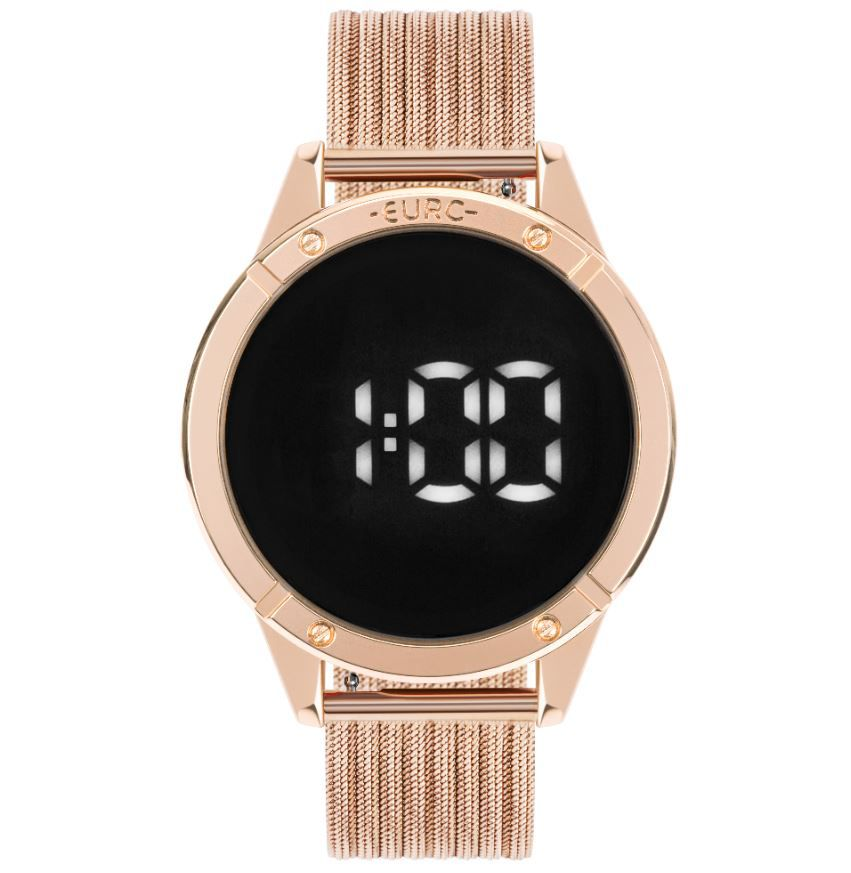 Relógio Feminino Euro Fashion Fit Touch Rose EUBJ3912AB/4F