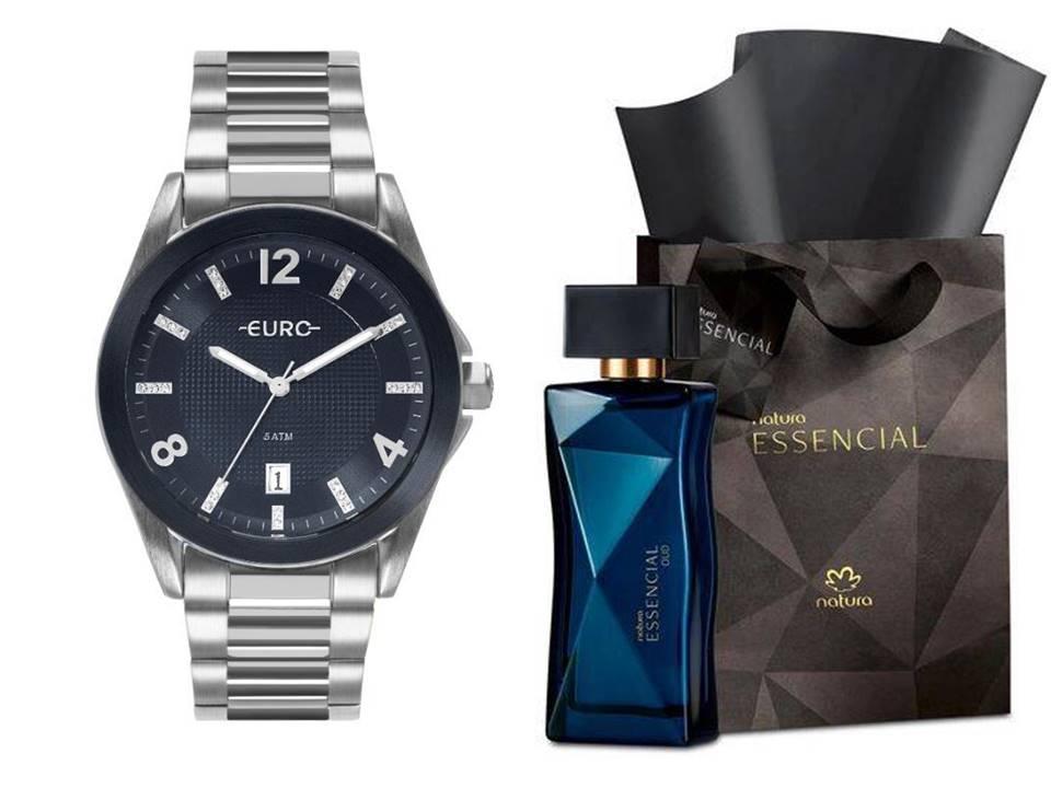 Relógio Euro Feminino EU2315HN/3A + Perfume Natura Essencial Oud