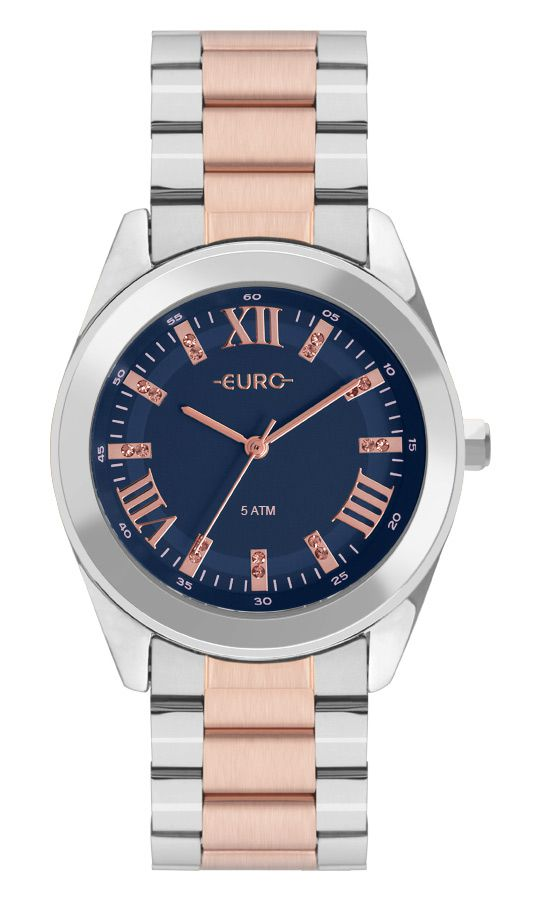 Relógio Euro Feminino Roman Shine EU2036YNC/5A