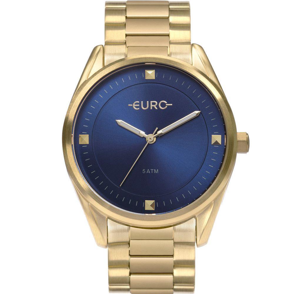 Relógio Euro Minimal Shine Dourado Feminino EU2036YOE/4A
