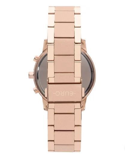 ... Relógio Euro Multi Basics Pushers Rose Feminino EUJP25AB 4C ... 548df1c4e1