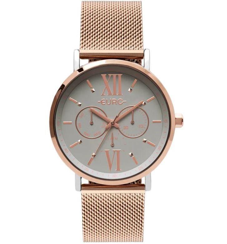 Relógio Euro Multi Glow  Prata Feminino EU6P29AHA/5K