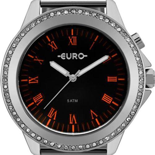 Relógio Euro Neon Lights Prata Feminino EU2036YMD/4P