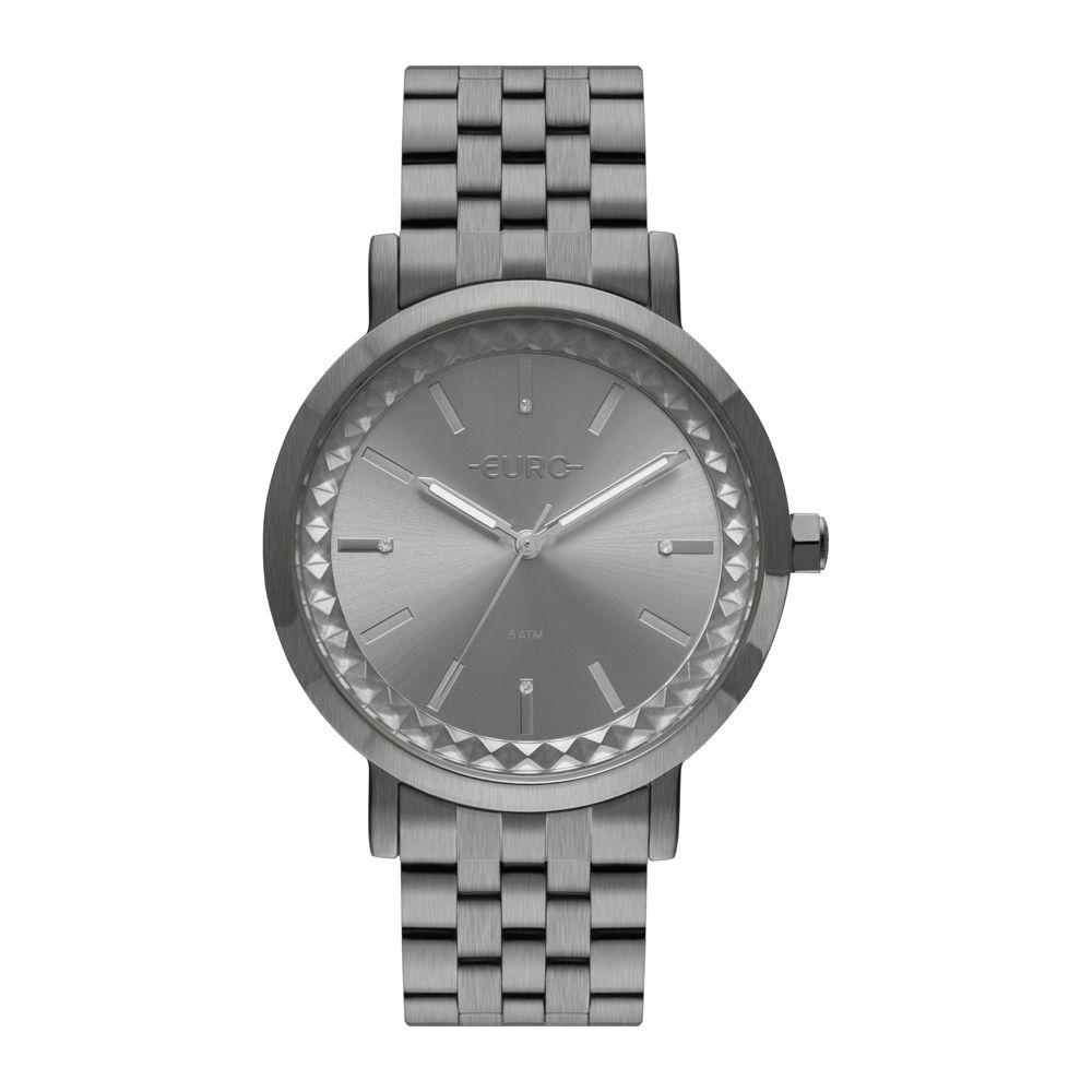 Relógio EURO Prata Feminino EU2036YOS/4C