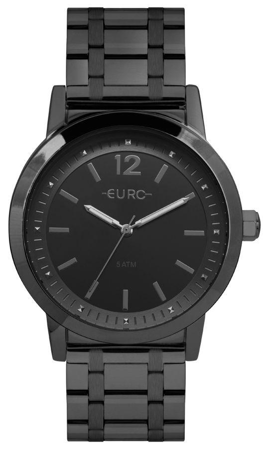 Relógio Euro Preto Feminino EU2035YRR/4P