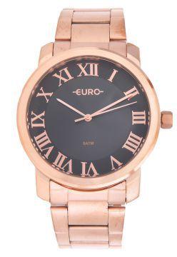 Relógio Euro Roman Basic Rosé Feminino EU2036YNO/4C