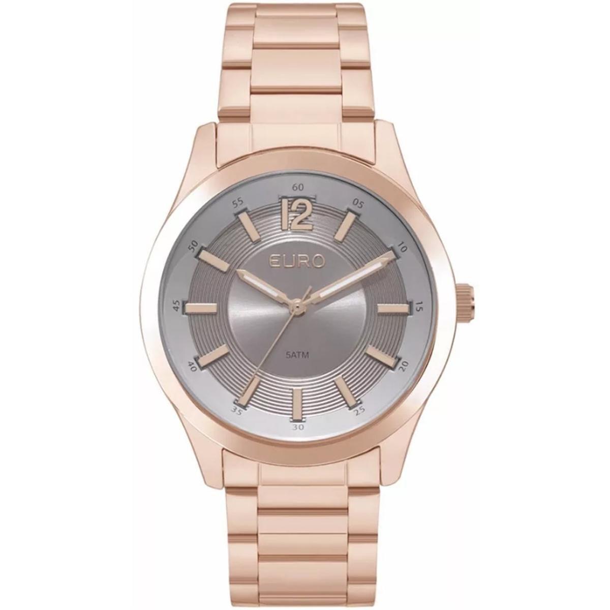 5cc73bdfe92 Relógio Euro Rosé Feminino EU2036YKX 4C - Relógios de Fábrica