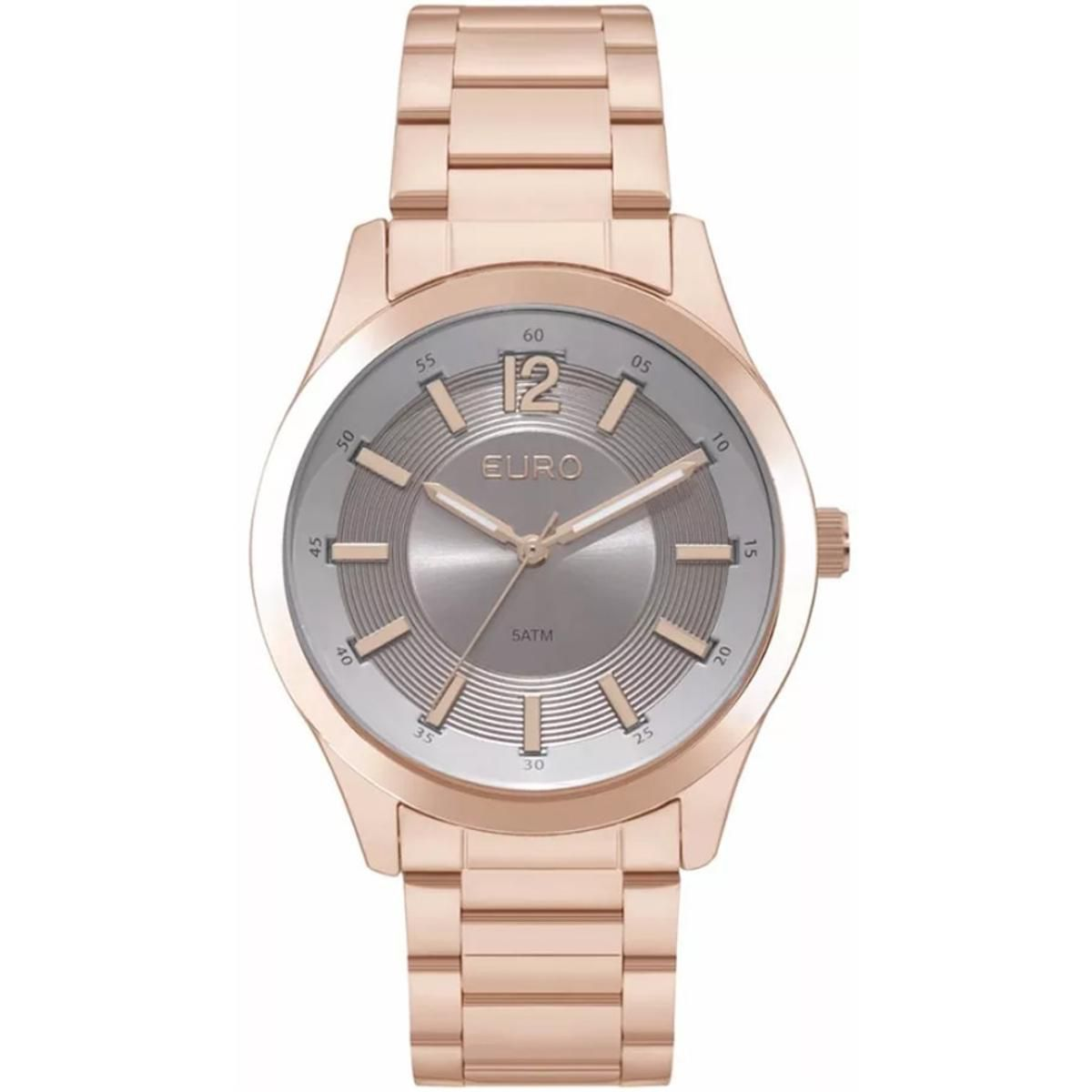 Relógio Euro Rosé Feminino EU2036YKX/4C